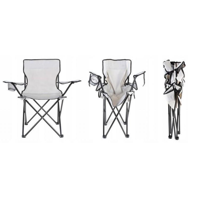 Sulankstoma žvejybos kėdė - šviesi (iki 120 kg)