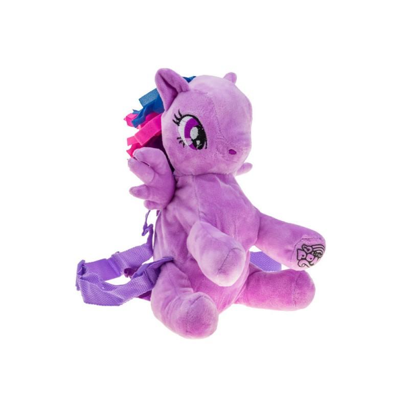 """Pliušinis arkliukas-kuprinė ,,My little pony"""""""
