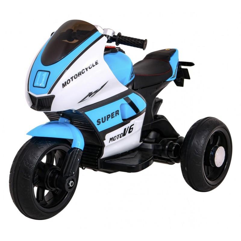 "Elektrinis motociklas ""Super"", mėlynas"
