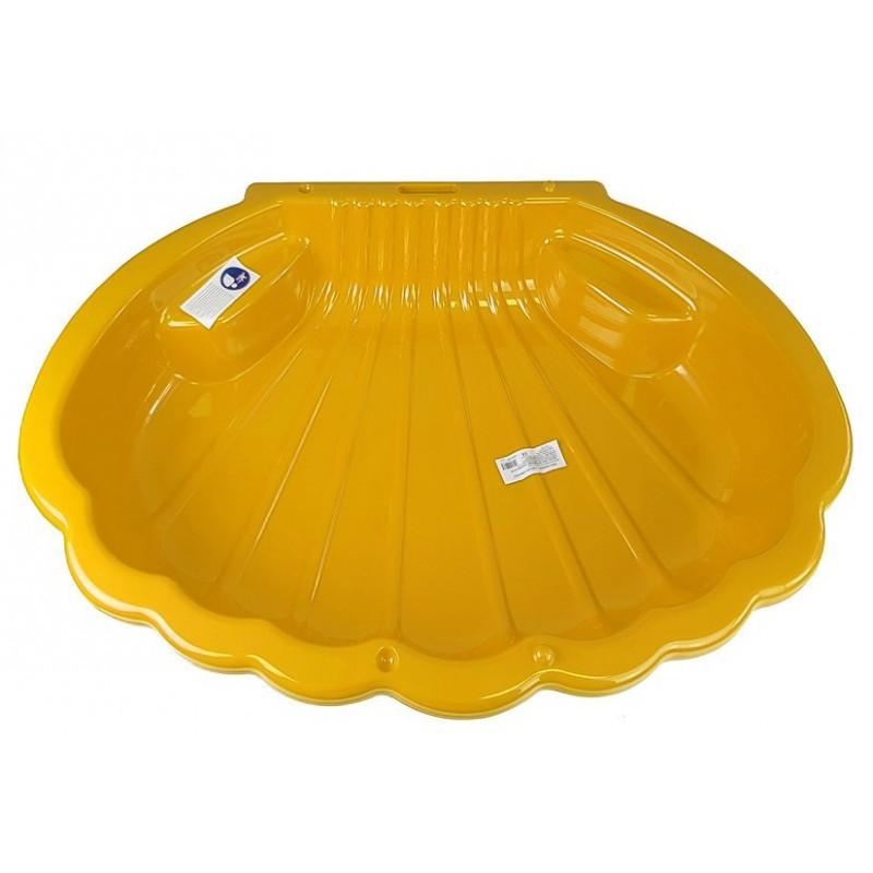 Smėlio dėžė, geltona