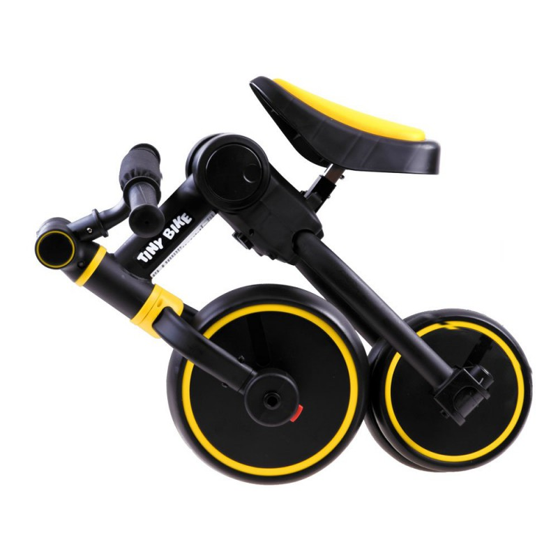 "Triratukas ""Tiny Bike 3in1"", geltonas"