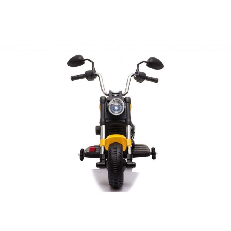 "Elektrinis motociklas ""V-Max"", geltonas"