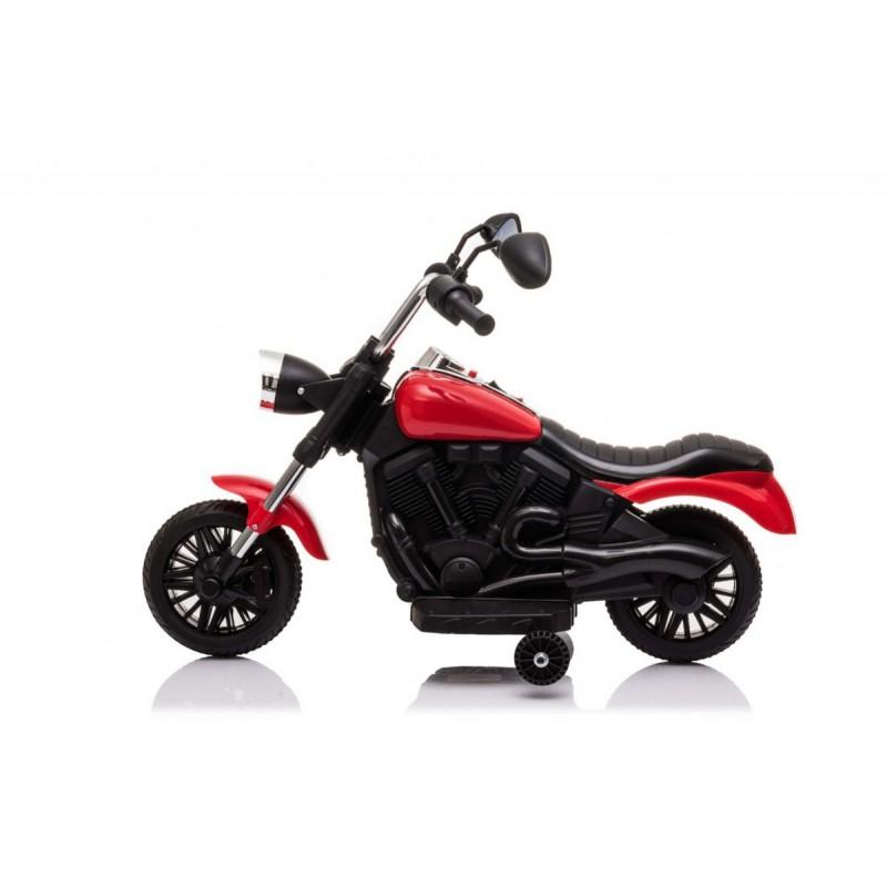 "Elektrinis motociklas ""V-Max"", raudonas"