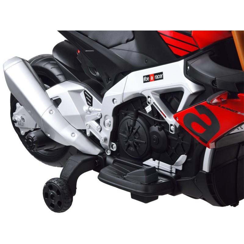 """Elektrinis motociklas """"Aprilia Tuono V4"""", juodas"""