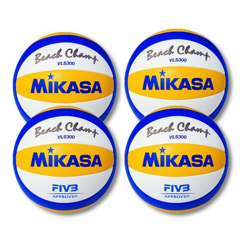 4 Papl. tinklinio kamuoliai Mikasa VLS300
