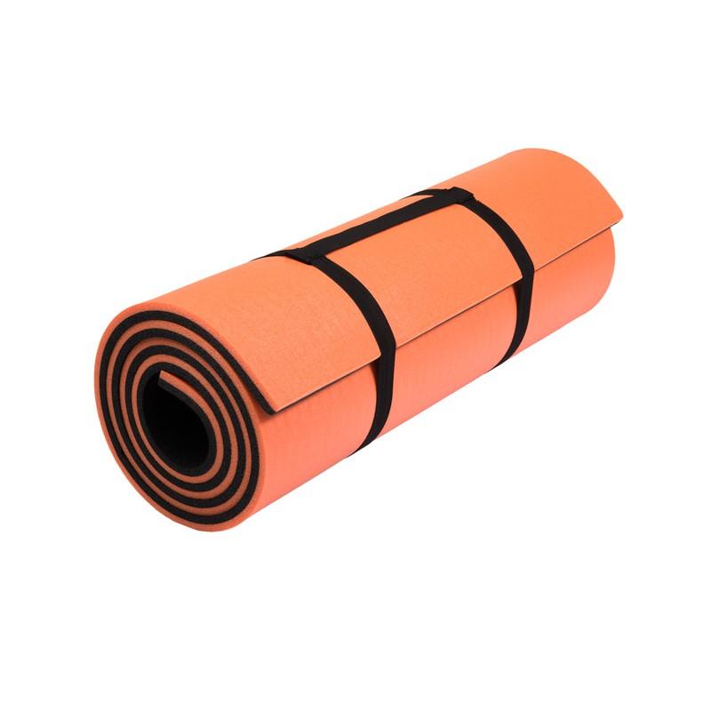 "Kilimėlis LunaPro ""Super Soft"" , 1800x600x13.5mm - Oranžinės spalvos"