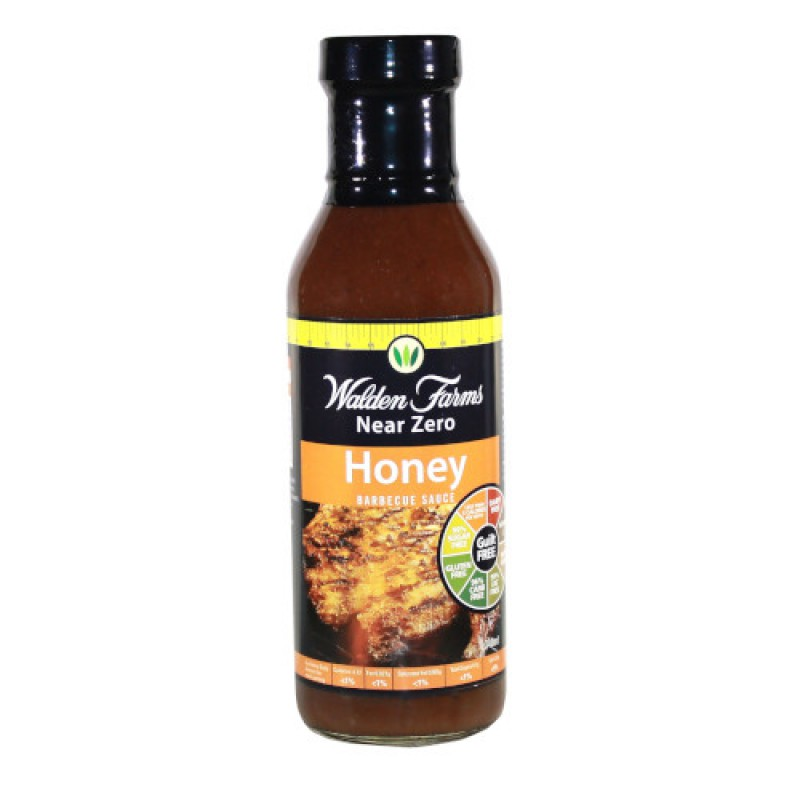 Walden Farms Honey Barbecue Sauce (medaus - barbekiu padažas) 340 g.