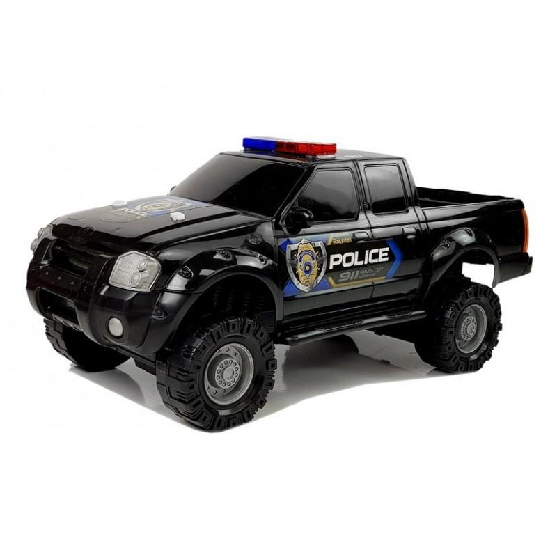 Žaislinis policijos automobilis, juodas